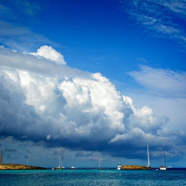 Illetas beach, Formentera island, Spain